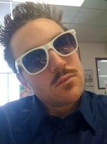 Kelsey Tracey's Mustache AKA Commodore Harry U. Lipp