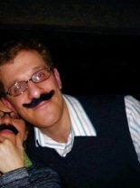 Andrew Katz's Inaugural Mustache
