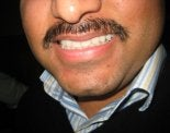 Kelvin Chahal's Mustache