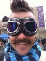 Chris Michael's Mustache