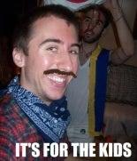 Chris Rozewski's Epic Movember Stache for the Kids!!