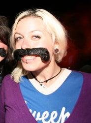 Joelle Andres's Mustache