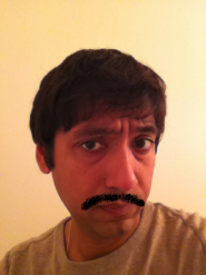 Harish Vaswani's Mustache