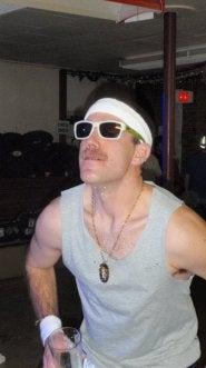 Nick English's Mustache