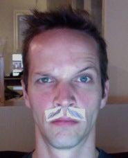 Stephen Clifton's Mustache