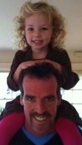Principal Lucey's First Mustache