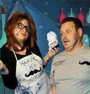 Andy Walton's Mustache with Kristina Coaching
