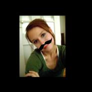 Tiffany Heimbuch-Maybee's Mustache