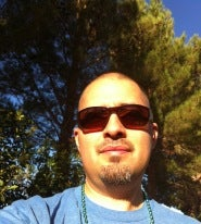 Santiago Meza's Mustache