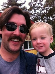 Danny Webber's Mustache