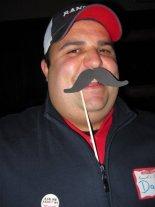 Daniel (The Hit Man) Martelle's Mustache