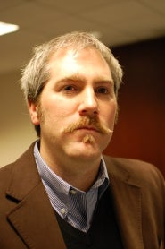 Steven Hill's Mustache