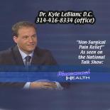 Dr. Kyle LeBlanc's Mustache
