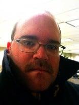 Ted Merklin's Creepy Flesh-Colored Mustache