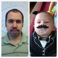 Thiago & Theodore Mustache 2014