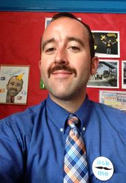 Mr. Heid's Mustache