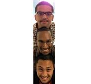 The Three Mustachios!