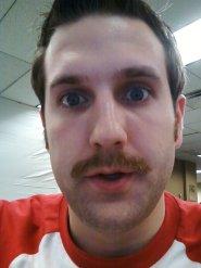 Mike Dvorchak's Mustache