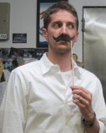 Jonathan's Reluctant Mustache