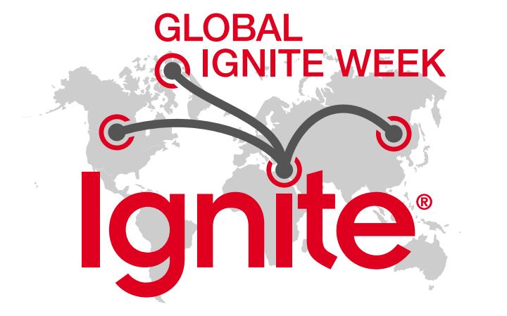 Global Ignite Week - O'Reilly