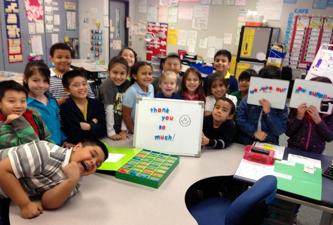 iPad Minis for Literacy and Math Learning