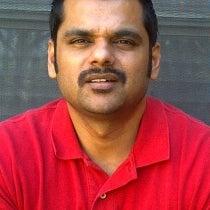 Manish Jaiswal's Mustache