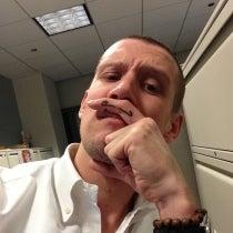 Cole Hodgin's Mustache