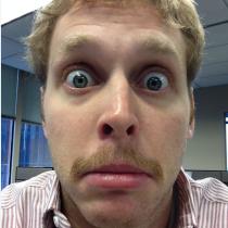 Matt Froehlke's Mustache