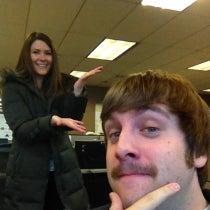 Nate Kemena's Mustache