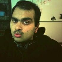 Akshay Bharath's Mustache