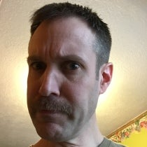 Chris Clary's Mustache