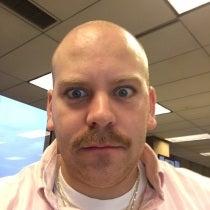 Anthony Cuda's Mustache