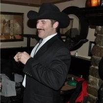 Jordan Melcon's Mustache